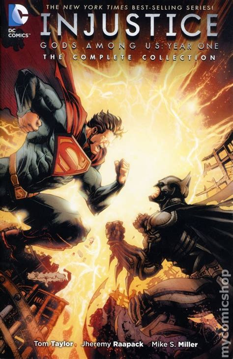 injustice the complete collection injustice gods among us year one tpb 2016 dc the complete collection comic books