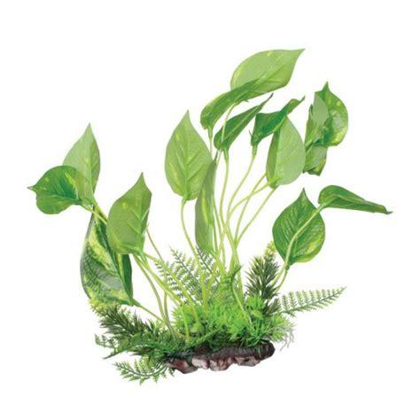 fluval aquascape plante plastique fluval aquascape 24cm
