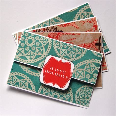 Handmade Gift Cards - money holder gift card holder handmade