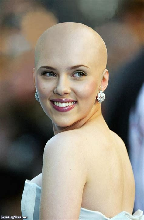 celebrities with big heads and short hair bald celebrities pictures freaking news