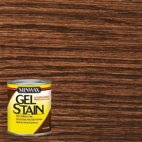 Diy Gel Stain Kitchen Cabinets minwax 1 qt hickory gel stain 66100 the home depot