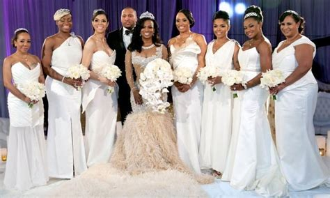 kandi burruss wears 20000 wedding dress in first photos kandi todd tucker s wedding pictures