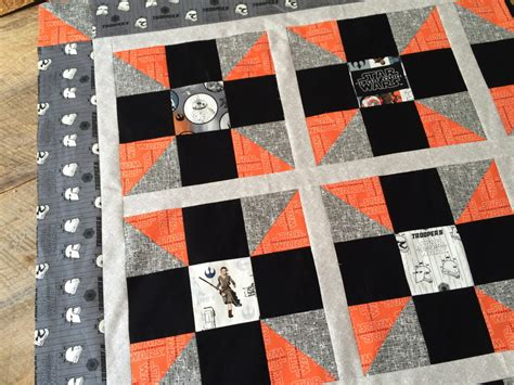 may the 4th be with you wars quilt pattern