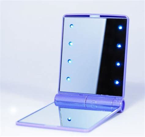 big light up mirror light up mirror 8 led cosmetic up mirror 8led mirror