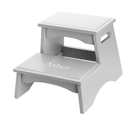 Baby Step Stool by Personalized Step Stools Pottery Barn