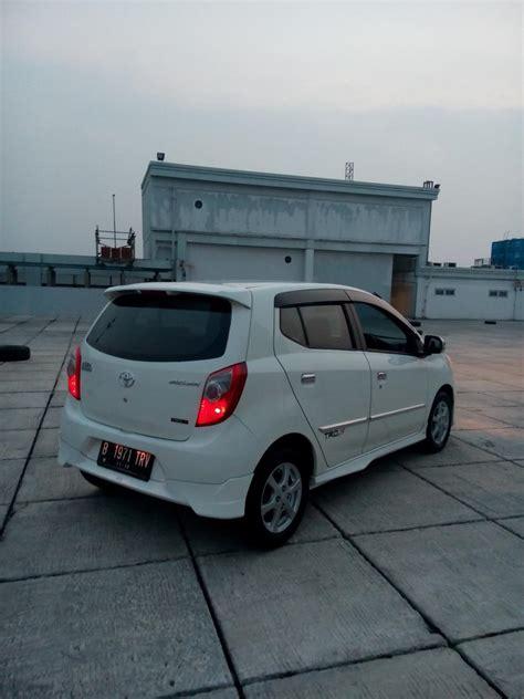 Toyota Agya Trd At 2013 toyota agya trd sportivo matic 2013 putih tgn 1 dari baru