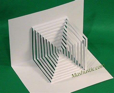 Paper Cutting And Folding - 3d paper geometric figures origami paper fold