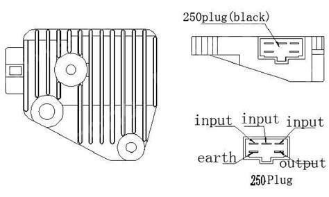 Voltage Rectifier Regulator For Yamaha V Star Xv250 Virago
