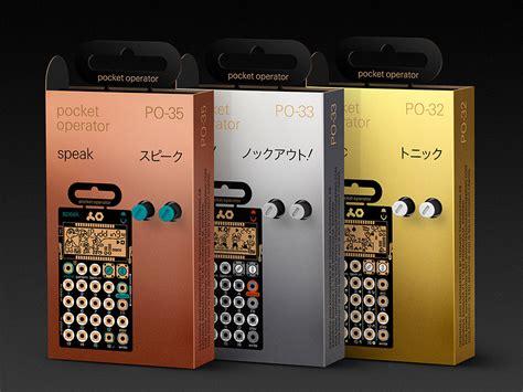 Metal Series engineering s pocket operator metal series is all