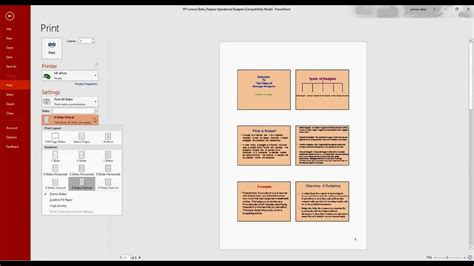 How To Make A Paper Slide - how to print powerpoint slides in one page