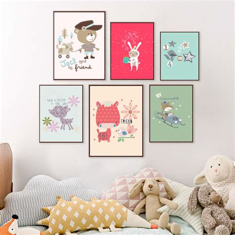 wall posters for room get cheap baby room posters aliexpress