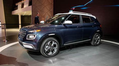 New York Auto Show 2020 Hyundai by 2020 Hyundai Venue Is Korean Brand S Smallest Suv Yet