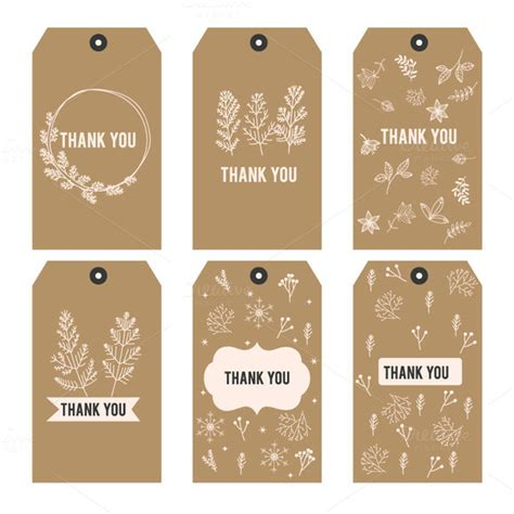 template thank you printable tags i 187 logotire com
