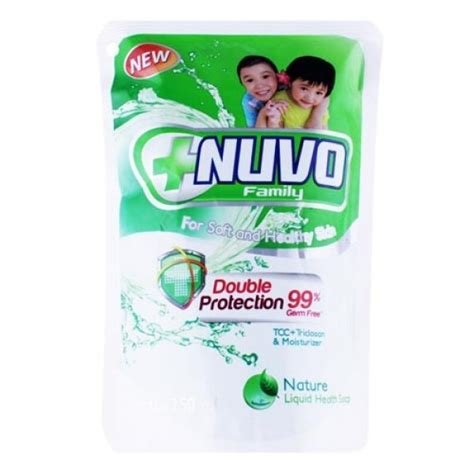 Nuvo Soap Refil 250ml liquid soap pouch liquid soapstand up pouch liquid soap 点力图库