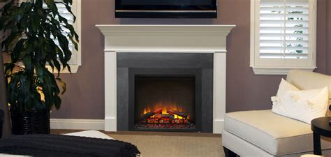 Built In Stove Fireplace by Simplifire Built In Electric No Vent Fireplace Harman Stoves