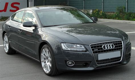 Audi A5 Front by File Audi A5 Sportback 2 0 Tfsi Quattro Front 20100425 Jpg
