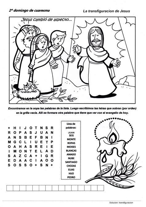 libro hacia la fundacin ciclo camino hacia la pascua recursos catequesis segundo domingo de cuaresma ciclo c la