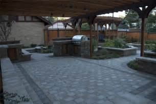 Backyard Patio Designs With Pavers Increase Your Backyard Look With Backyard Pavers Ideas Homedees