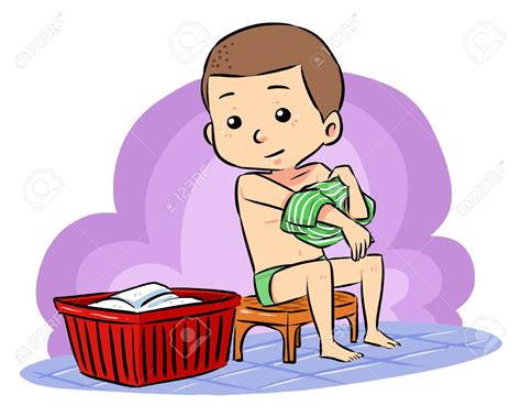girls changing dress in bathroom child taking a bath clipart 78