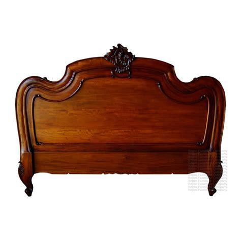 carved louis xv headboard mahogany french bedroom 163