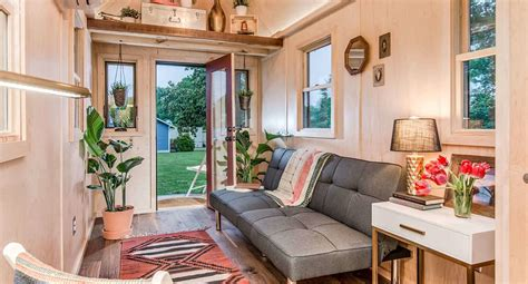 tiny house inspiration towable riverside tiny house packs every conventional