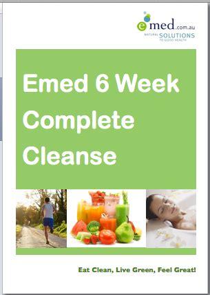 6 Week Detox by Emed 6 Week Complete Cleanse Emed