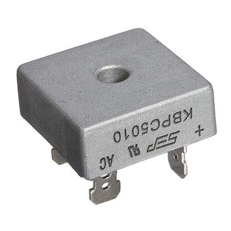 diode bridge kbpc5010 kbpc5010 1000 volt bridge rectifier metal 1000v diode bridge alex nld