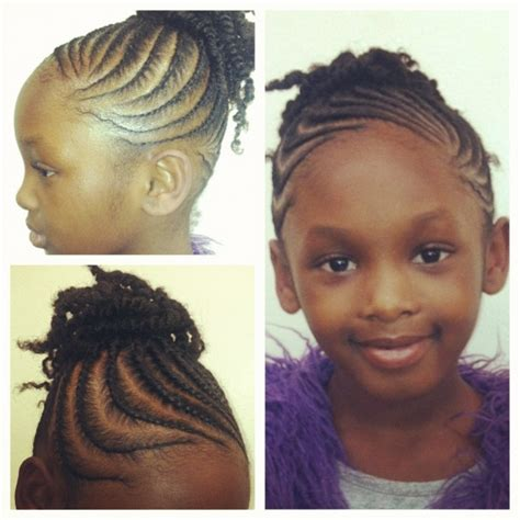 double stranded rods hairstyle double strand flat twists natural kids twists