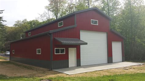 not only is this a beautiful garage pole building but the picture pole barn specs dkhoi com