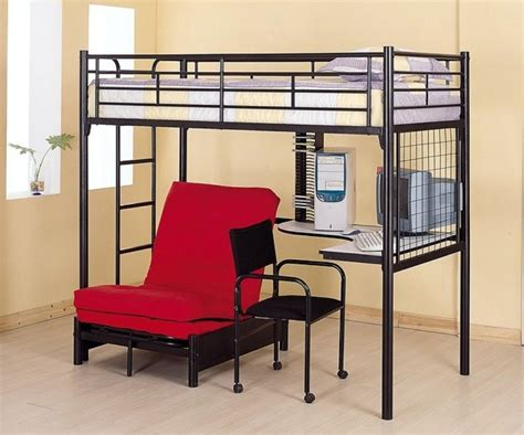 trundle bed with desk bunk beds with futon and desk