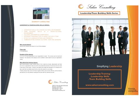 Home Design Companies In India by Leadership Amp Team Building Course Brochure