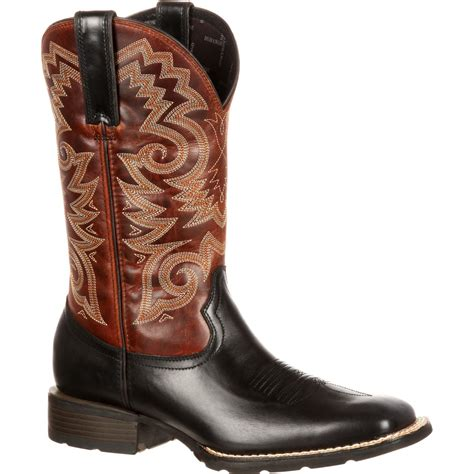 Black Master Boot Rossel Black s black and brown western boot durango mustang