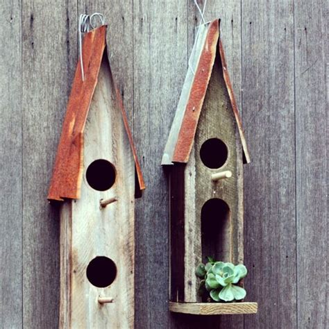 8 best reclaimed bird houses by boodle concepts images