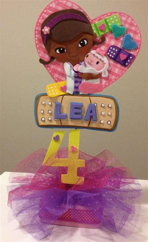 doc mcstuffins centerpiece cake topper by sweetbellaluna