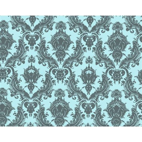 tempaper damsel aqua grey wallpaper tempaper designs