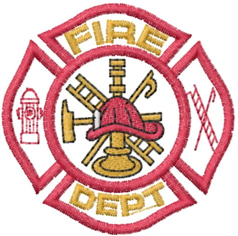 design a fire department logo mead artworks embroidery design fire dept logo 2 00