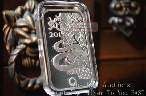 1 troy oz german silver bullion buffalo bar 1 oz silver bar 999 silver bullion 2013 year of