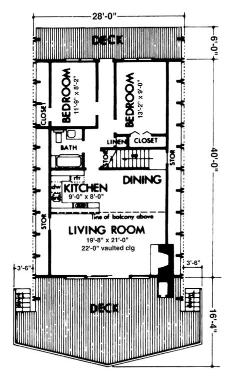 a frame floor plans house plan 57545 at familyhomeplans