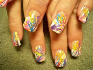 lines acrylic 2 nail design nail designs amp nail art