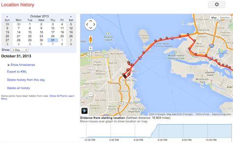 android location history location history registra tu actividad diaria en un mapa con tu android el androide libre