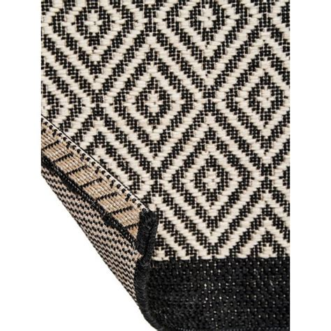 st tropez rug st tropez black white rug temple webster
