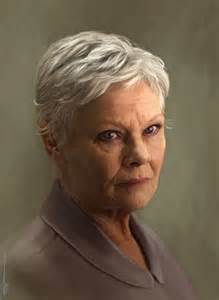 how to cut judi dench hair judi dench hair how to short hairstyle 2013