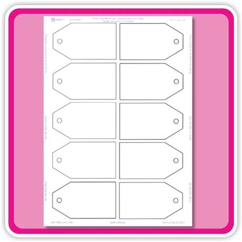 Avery Gift Tag Template The Hakkinen Avery Printable Tags With Strings Template