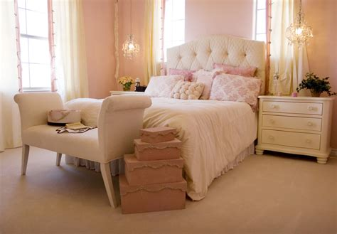 light pink and cream bedroom delicate bedroom with one of these 40 feminine headboards
