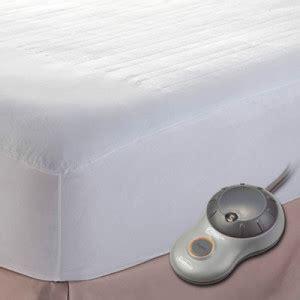 Electric Heating Mattress Pad by Sunbeam Quilted Size Heated Electric Mattress Pad