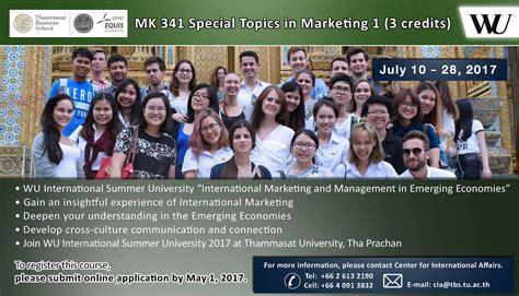 Mba International Affairs by International Affairs Thammasat Business School