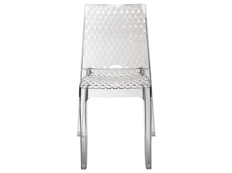 chaise de cuisine transparente chaise transparente hypnotic vente de confo scoop