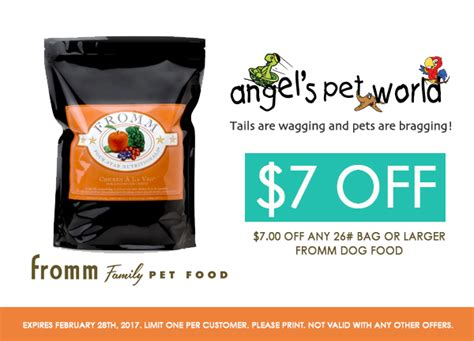 fromm puppy food reviews 7 fromm food pet world
