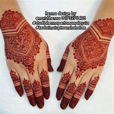 design henna pengantin perkhidmatan ukiran inai pengantin