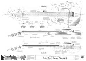 solid body electric guitar plans 6 electronic version